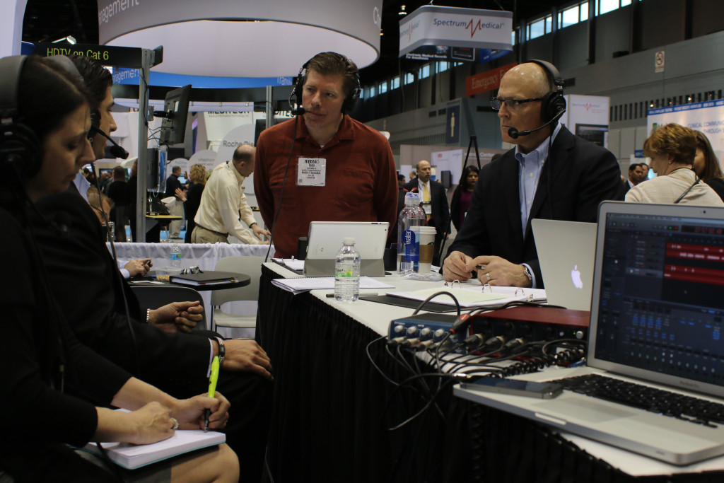 intrepidNOW, Trade Show Radio