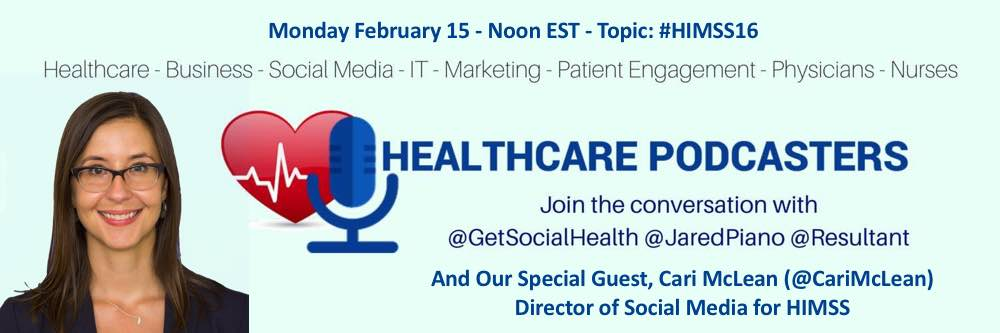 HIMSS16 on the Healthcare Podcasters Blab