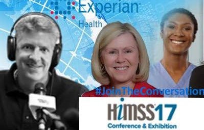 #JoinTheConversation with Experian Health at #HIMSS17