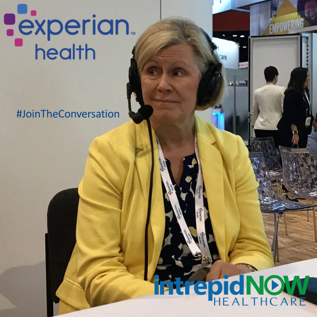 Experian Health's Cindy Dullea at #HIMSS17