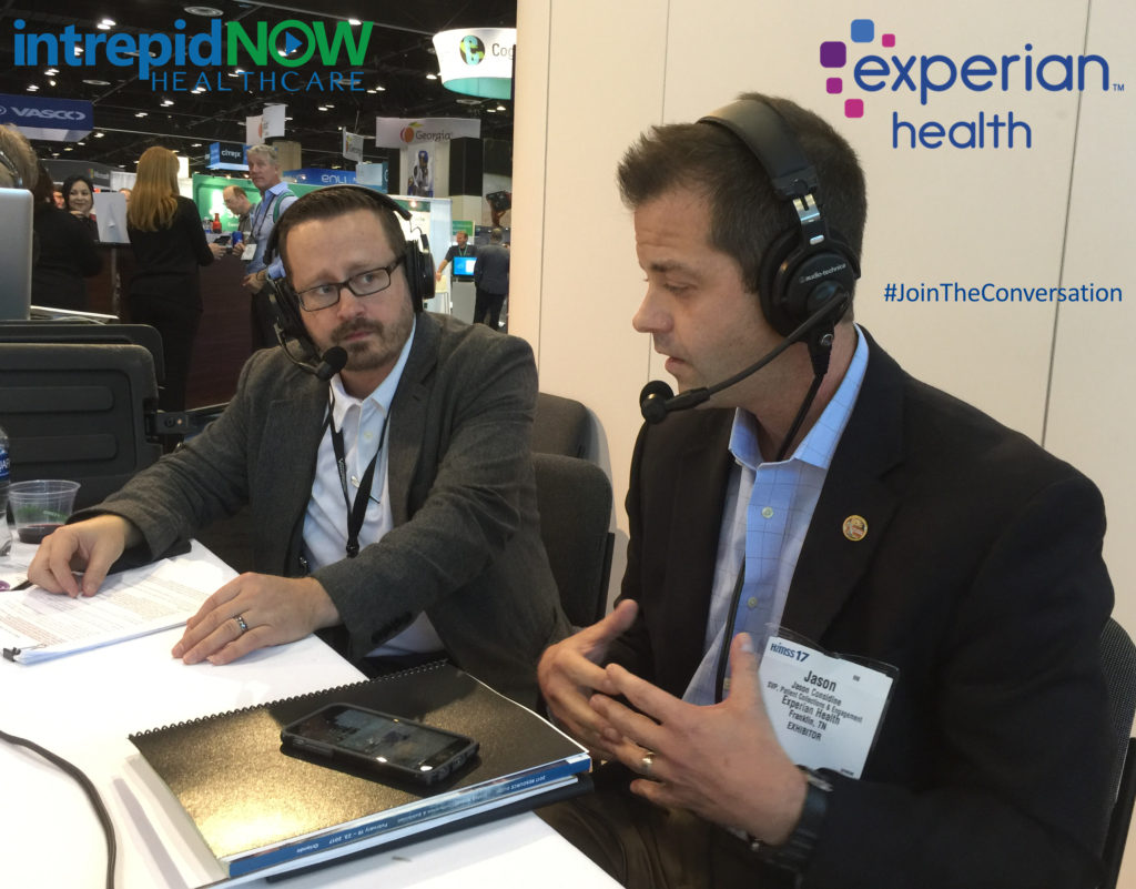 #JoinTheConversation with Experian Health's Jason Considine