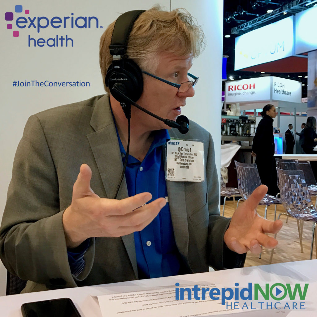 #JoinTheConversation with Dr. Nick van Terheyden at #HIMSS17