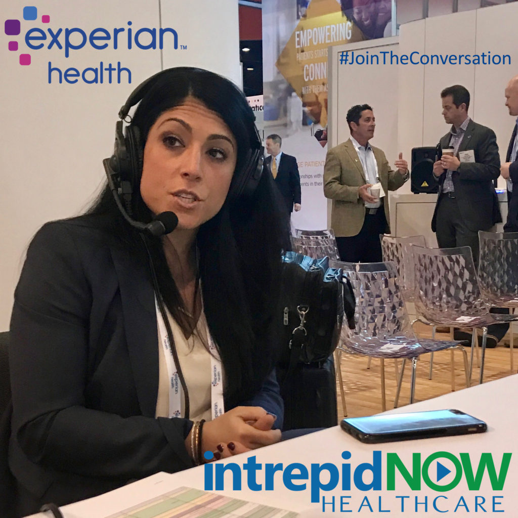 Experian Health's Nicole Rogas at #HIMSS17